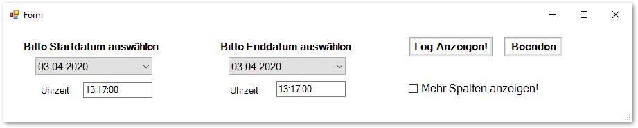 MessageLogViewer GUI
